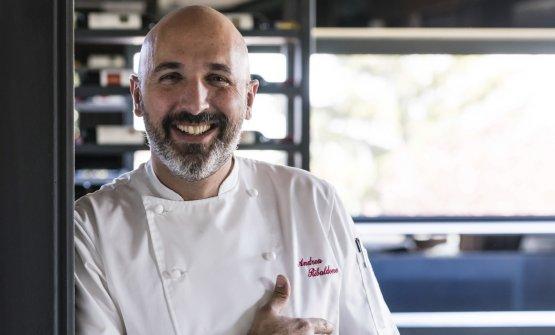 Andrea Ribaldone: coordinatore della ristorazione di Identità Golose Milano