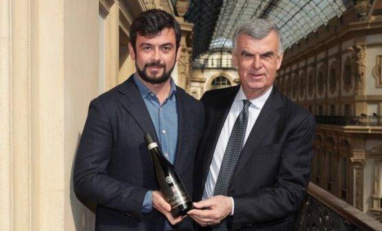 Riccardo e Umberto Pasqua hanno presentato gli eccellenti dati economici dell'azienda