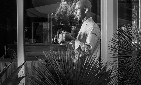 Riccardo Camanini, 47 anni, chef del ristorante Li