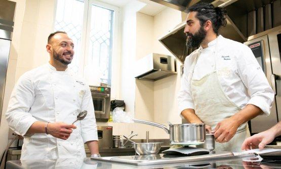 Con ilresident chefAlessandro Rinaldi