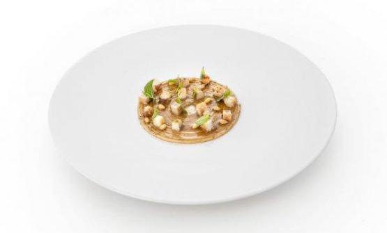 Spaghetto menta e anguilla di Stefano Sforza, chef