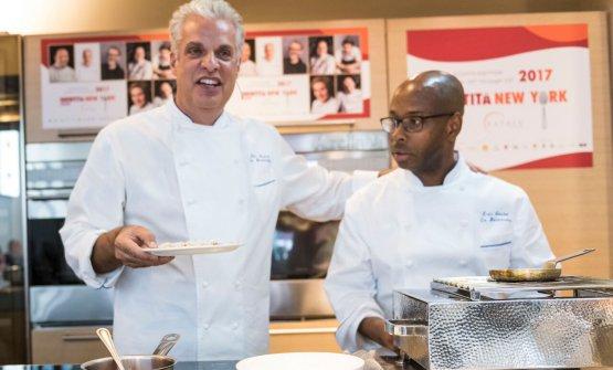 Eric Ripert, chef del ristorante Le Bernardin di New York, 3 stelle Michelin, 17mo posto nella World's 50Best. Foto di Brambilla/Serrani