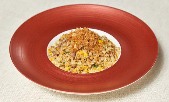 Spazio alla contemporaneità:riso e foie gras (foto di Daniele Mari)