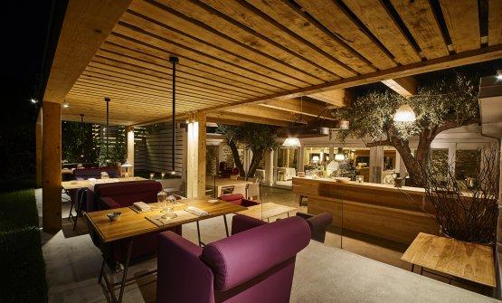 La sala del Pietramare Natural Food, all'interno del Praia Art Resortdi Isola di Capo Rizzuto (Crotone)