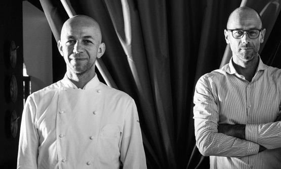 FRATELLI. Riccardo e Giancarlo Camanini, titolari del ristorante dal 14 marzo 2014(fotoristorantelido84.com)