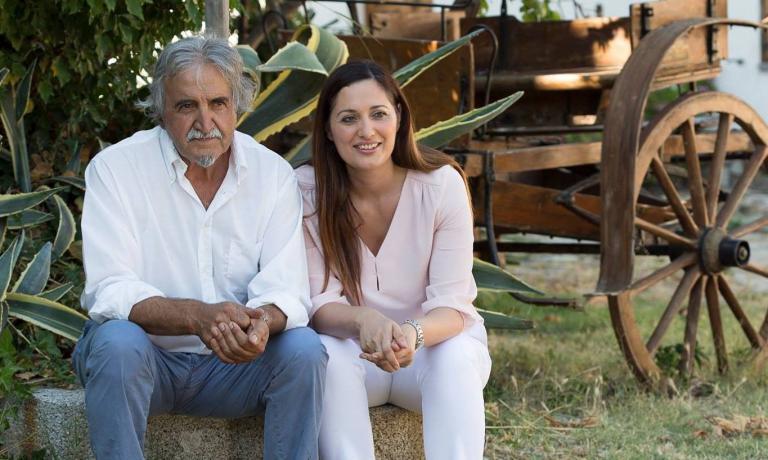 Roberto Ceraudo con la figlia Susy