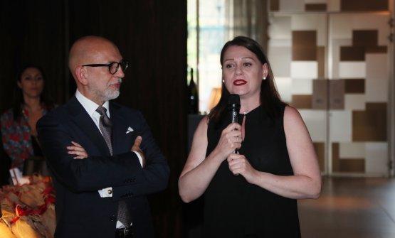Roberto Magnaghi, direttore generale Ente Nazionale Risi, e Sonia Peronaci