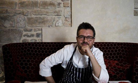 Rocco De Santis è lo chef delSanta Elisabetta,�