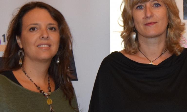 Luciana Squadrilli e Tania Mauri
