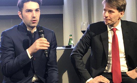 Martino Ruggieri e Walter Rolfo alla presentazione italiana del Bocuse 2019