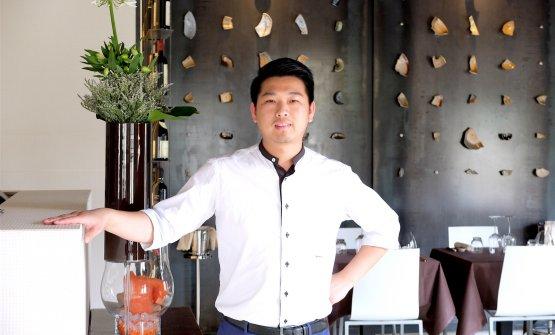 Weikun Zhu, chef-patron del Kanton a Capriate San