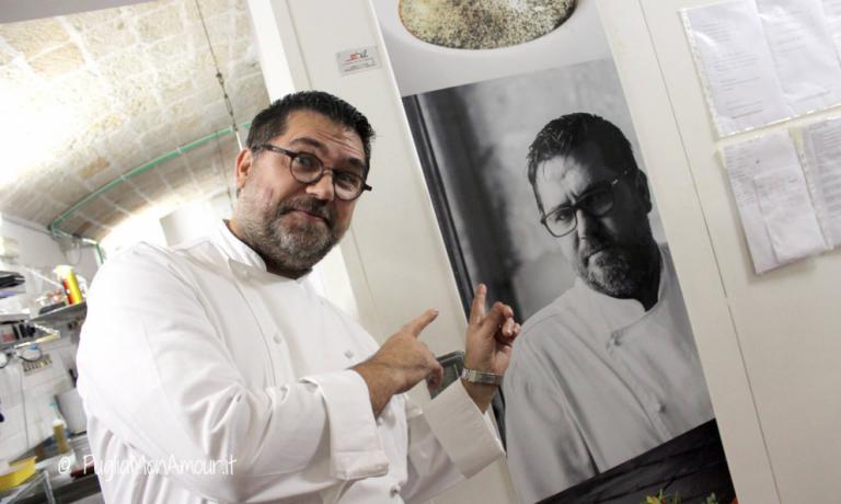 Angelo Sabatelli, dell'omonimo ristorante pugl