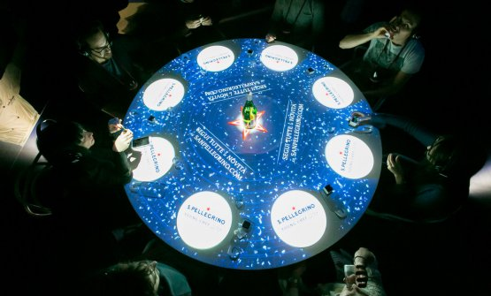 The Experience Table, lo spazio espositivo di S.P