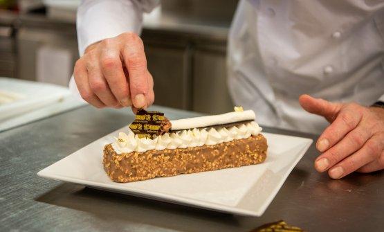 La torta Lingot. Foto Alberto Salata