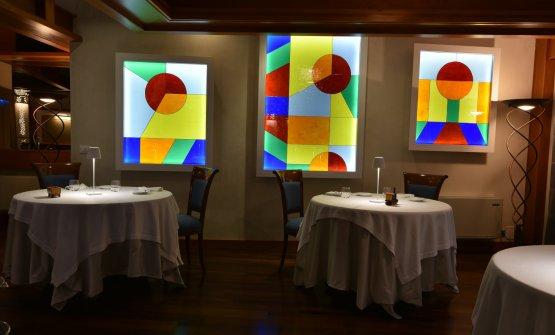 La sala del ristorante Aldo Moro, da poco rinnovata