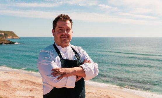 Salvatore Camadda, chef del Somu all'Hotel Duomo