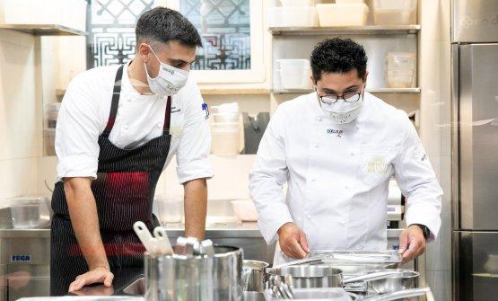 Bianco con Simone Maurelli, chef di Identità Golose Milano