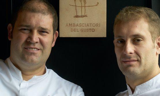 I fratelli Salvatore e Francesco Salvo