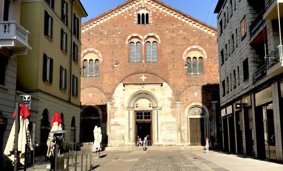 La basilica di San Simpliciano a Milano