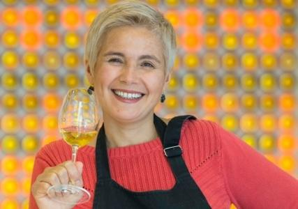 Sandrine Garbay, for twenty years now the oenologist at Yquem