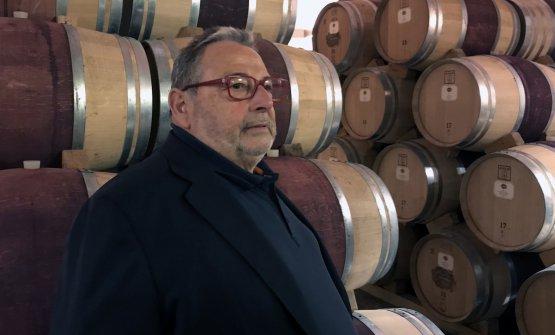 Fausto Maculan nella sua cantina di Breganze