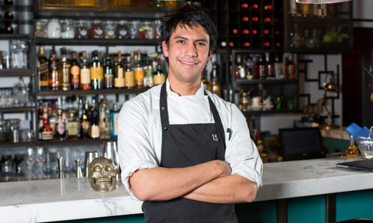 Il giovanissimo chef messicanoSantiago Lastra Ro