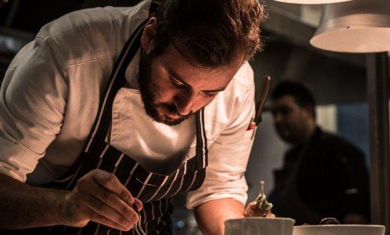 Lo chef Santino Corso