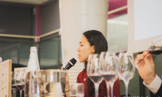 La Master of wine Sara Heller