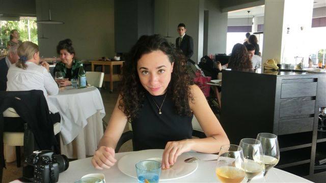 """Sara Porro, vincitrice del Premio Bancarella Cucina 2015 per""""Giuseppino"""" (Utet editore,con Joe Bastianich)"""