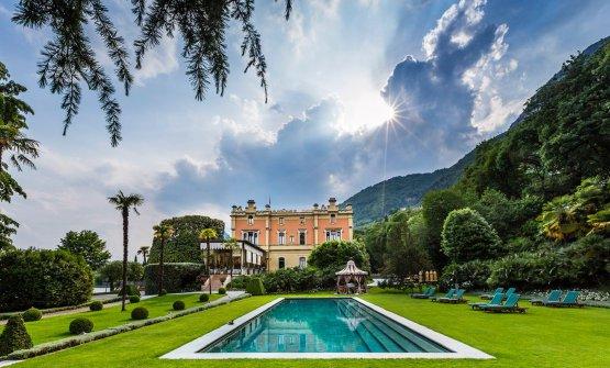 Il bellissimo giardino di Villa Feltrinelli