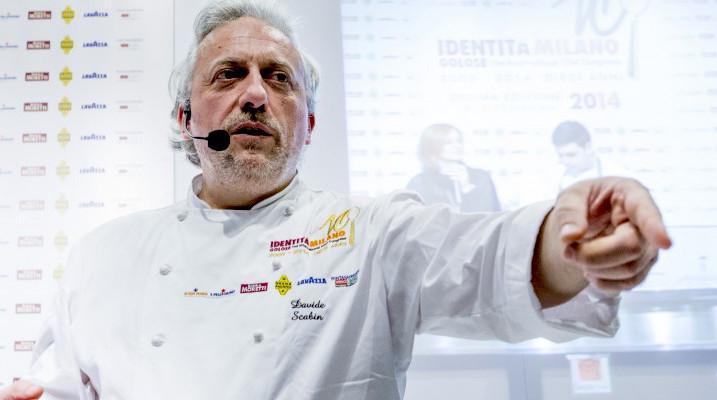Davide Scabin, chef del ristorante Combal.zero di