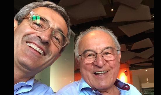 FIGLIO E PADRE. Riccardo e Valentino Felicetti, pastai a Predazzo