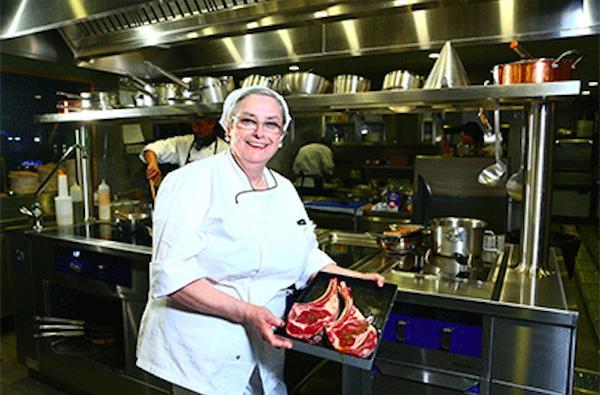 Giorgina Mazzero, chef trevisana di Da Ivo, insegn