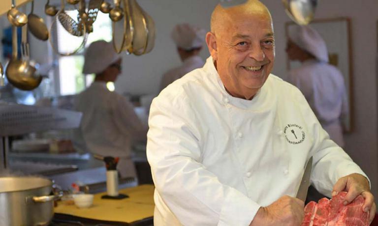 Mauro Ricciardi, oggi chef dellaLocanda dell'A