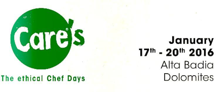 Parte Care's, la prima edizione (anzi, il numero zero) dell'evento enogastronomico in Val Badia dedicato alla cucina sostenibile. Identità Golose seguirà i lavori