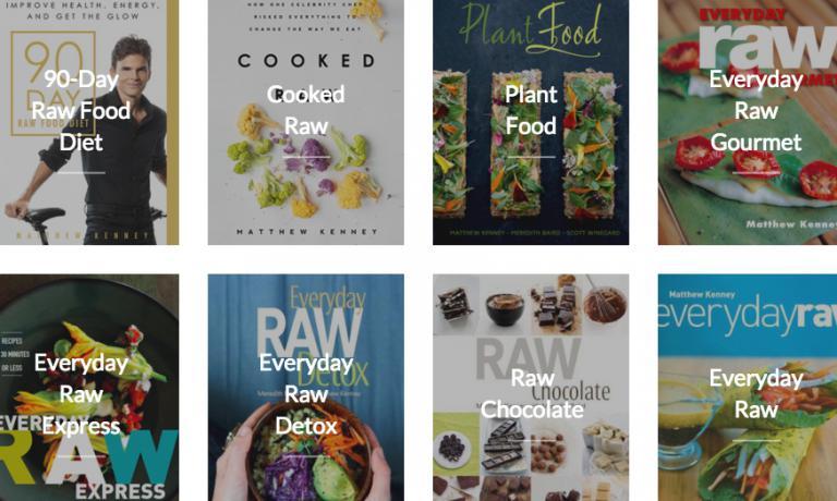 Una selezione parziale dei libri pubblicati negli anni da Kenney