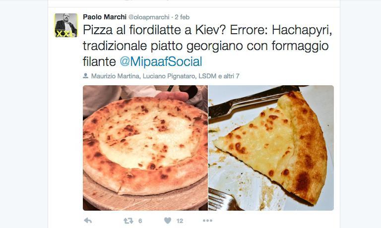 Il tweet di Paolo Marchi da cui tutto cominciò