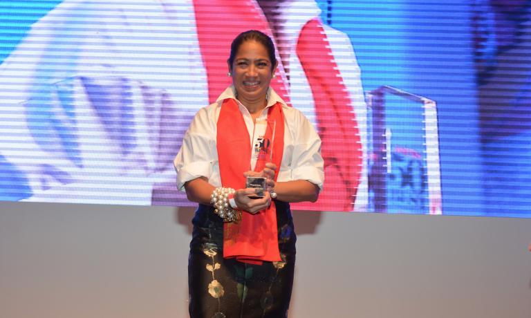 La Forés premiata l'altro giorno al 50 Best Asia