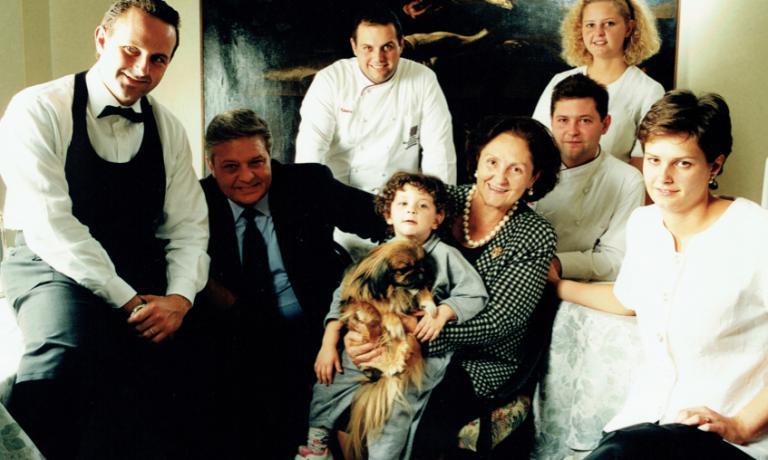 La famiglia Cereanegli anni Novanta