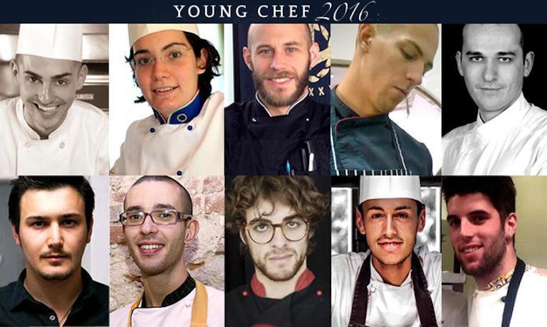 Ecco i volti dei 10 semifinalisti italiani della S.Pellegrino Young Chef 2016. Si disputeranno l'accesso alla finalissima il prossimo 20 giugno; il vincitore internazionale verrà incoronato a Milano in ottobre