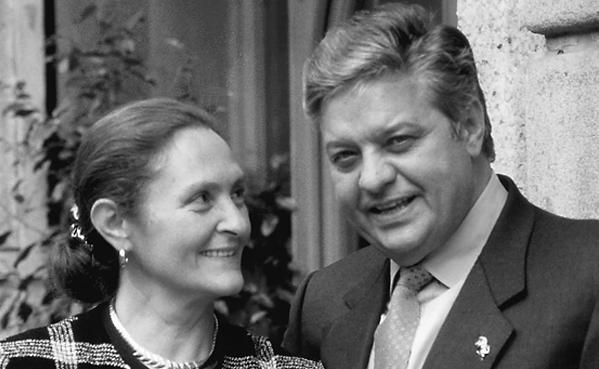 Vittorio Cerea con la moglie Bruna. Il fondatore d