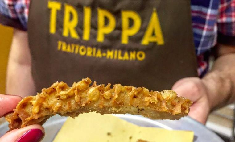 La trippa fritta di Trippa