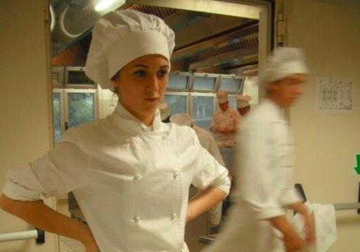Jessica versione pre-Noma, a18 anni all'Istituto Alberghiero di Loreto