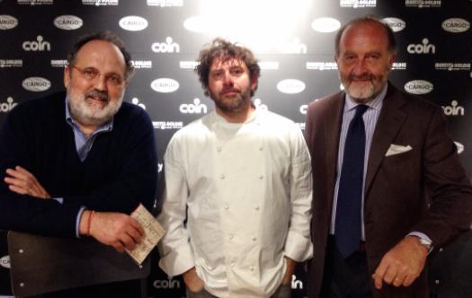 Paolo Marchi, Cesare Battisti e Severino Salvemini