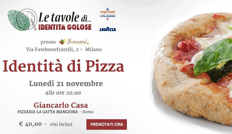 SaràGiancarlo Casadella celebre pizzeriaLa