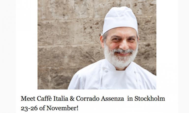 Il pasticciere Corrado Assenza è in partenza per la Svezia. Lo seguiremo