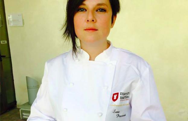 Sara Preceruti, già chef dell'anno per la Guida ai Ristoranti di Identità Golose
