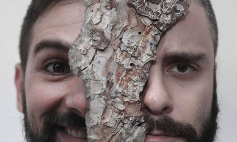 YIN E YANG. Alessandro Miocchi e Giuseppe Lo Iudice, co-chef di Retrobottega, nel curioso scatto diCarlotta Benvenuti