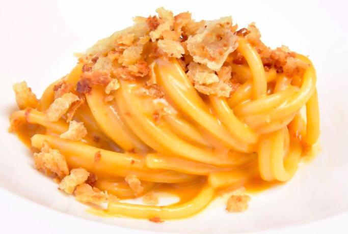 Spaghetti, ricci di mare e rosmarino di Enrico Mar