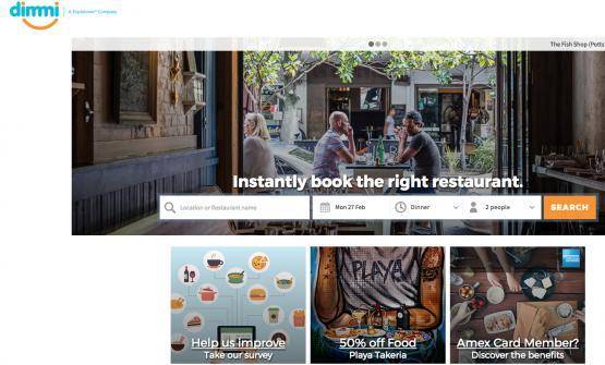 Il sito di prenotazioni australiano Dimmi